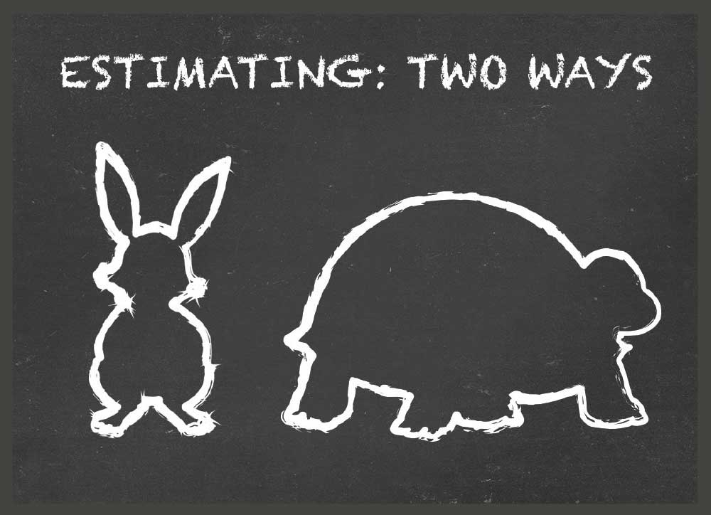 Back to the Basics: Two Ways To Estimate Retirement Expenses; One Fast, One Slow